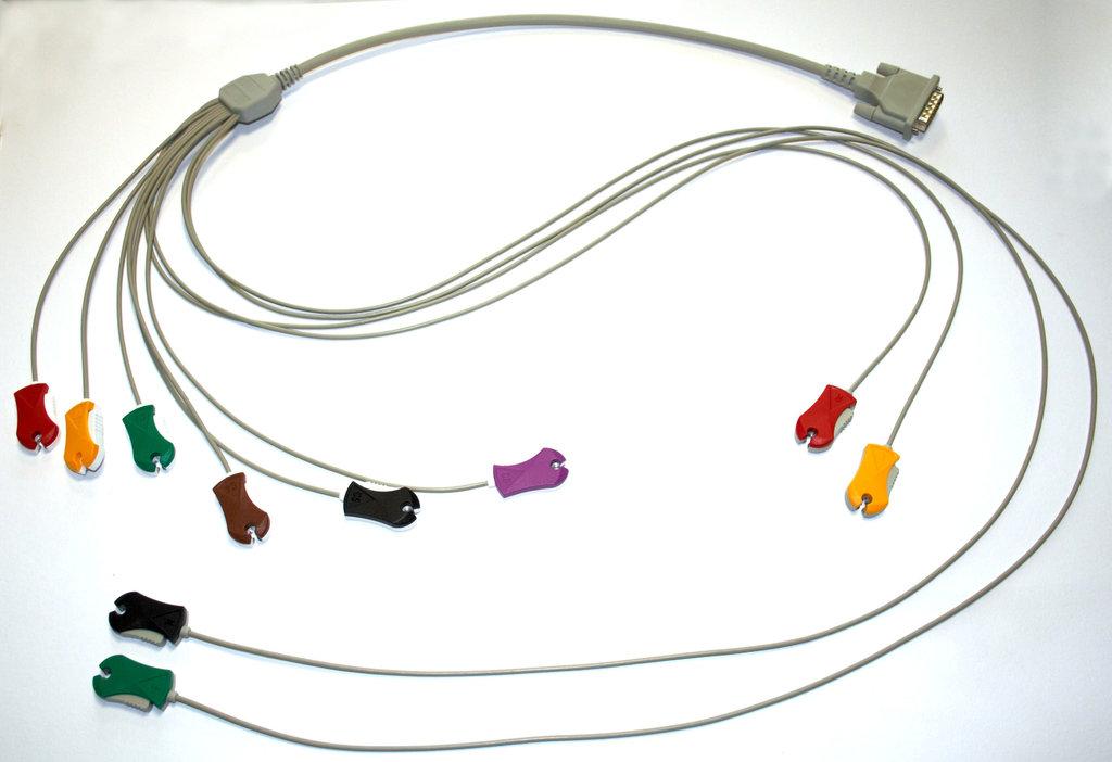 EKG-Kabel für AMEDTEC PC-EKG CardioPart 12 - bei ZIEMED