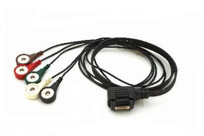 5 adriges lz ekg kabel f r amedtec ep810 g nstig bei ziemed. Black Bedroom Furniture Sets. Home Design Ideas
