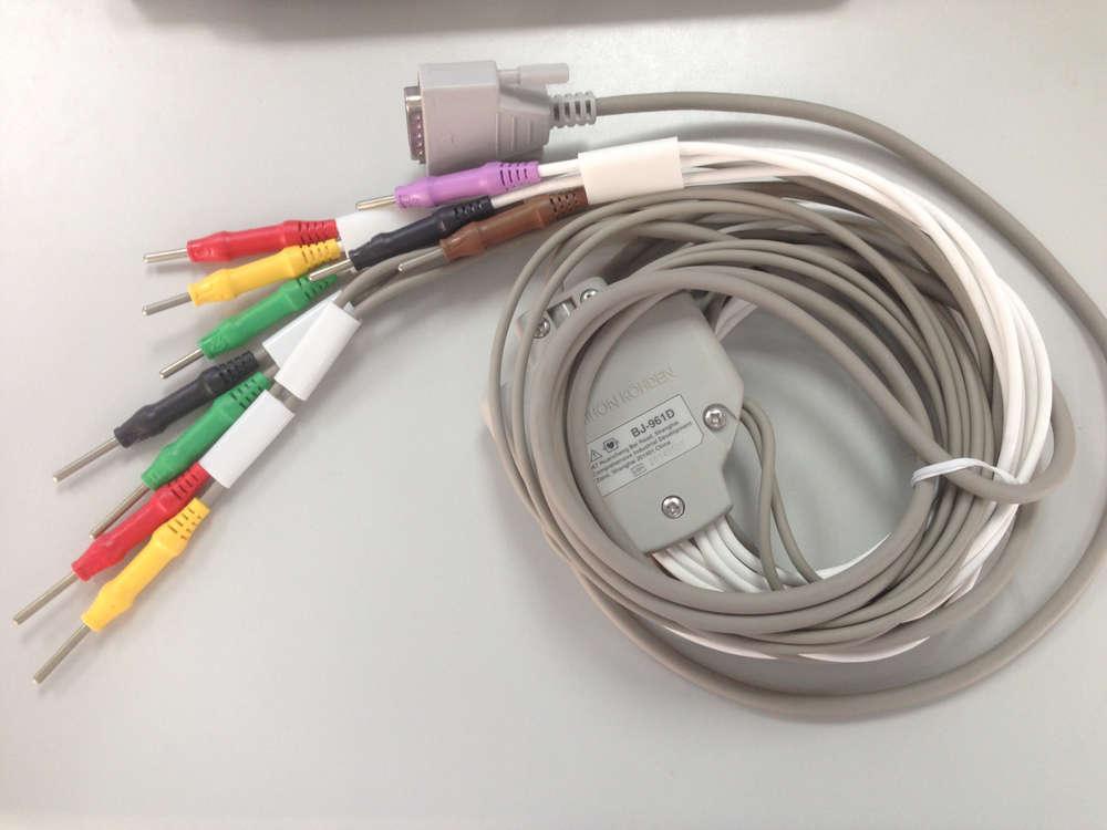10-adriges EKG-Kabel für NIHON KOHDEN EKG-Geräte bei ZIEMED